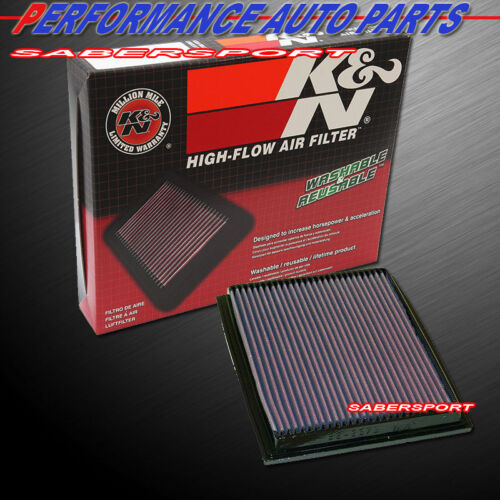 K/&N 33-2675 Hi-Flow Air Intake Drop in Filter for 1992-1996 BMW 540I 740I 740IL