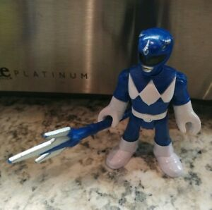 Fisher-price Imaginext Power Rangers magezord Ranger Azul Com Espada