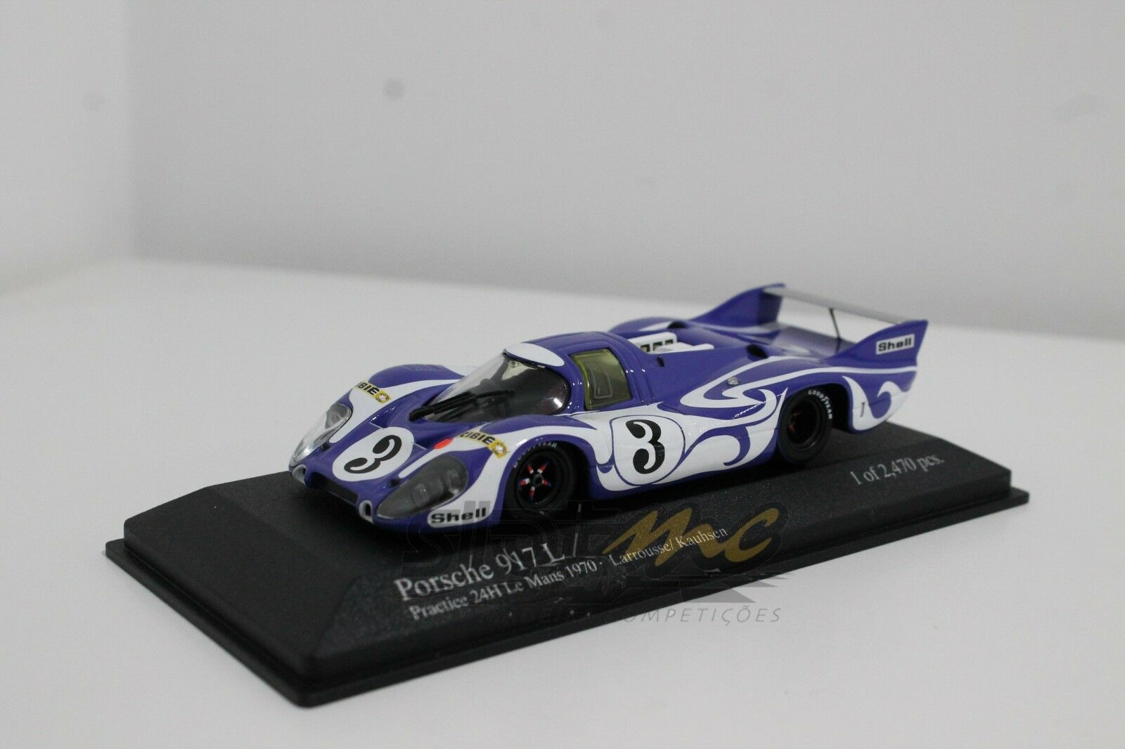 Minichamps 400706193 Porsche 917L,, Hippie  24h Le Mans 1970 1 43  NEW