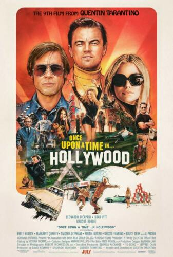 ONCE UPON A TIME IN HOLLYWOOD MOVIE POSTER US Version, Size 24 x 36