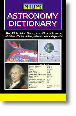 1 of 1 - Philip's Astronomy Dictionary, , Very Good Book