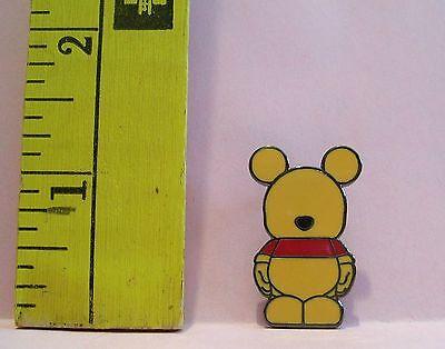 Walt Disney VINYLMATION WINNIE THE POOH BEAR JR TRADING Hat Lapel Pin Badge