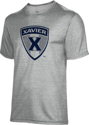 Spectrum Sublimation Unisex Xavier University  Poly Cotton Tee XU
