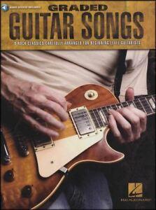 Aimable Classé Guitare Chansons Tab Book With Audio 8 Rock Classics Débutant Rgt Grades 1-3-afficher Le Titre D'origine Promouvoir La Production De Fluide Corporel Et De Salive