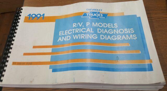 1991 Chevrolet Trucks R  V P Models Electrical Diagnosis