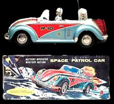 1960s NOMURA VW Beetle Space Patrol Car R-10 with Original Box SCARCE