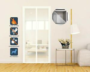Insektenschutz-Magnet-Fiberglas-Vorhang-Fliegenvorhang-Flammschutz-Moskitonetz