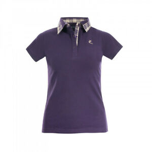 Horze-Brita-Women-039-s-Short-Sleeved-Polo-Shirt-Moisture-Wicking-Anti-Odor