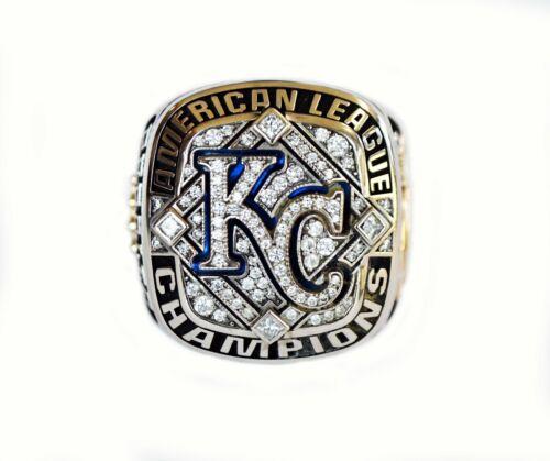 Genuine 2014 Kansas City Royals Gold & Diamond Ame