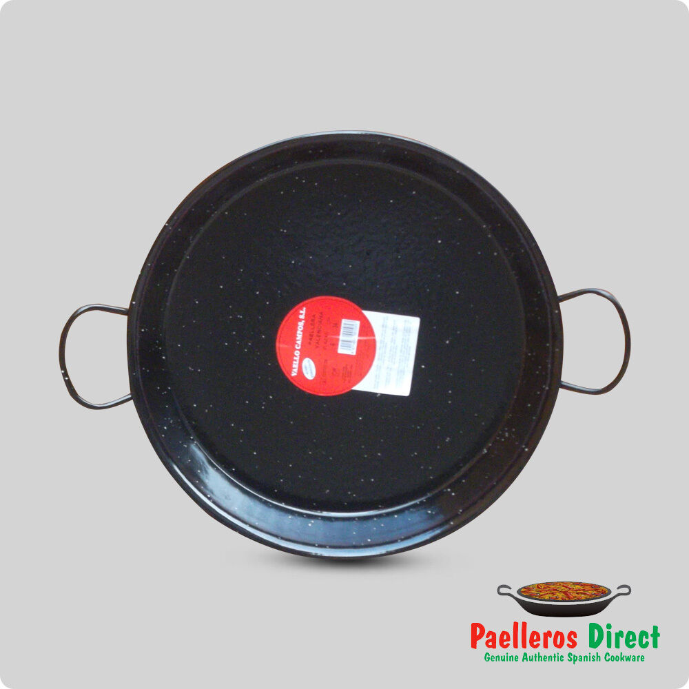 Vaello Campos La Valenciana 90cm Enamelled Steel Paella Pan