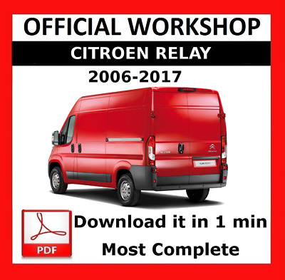 Auto Parts and Vehicles Citroen Relay Workshop Service and Repair ...
