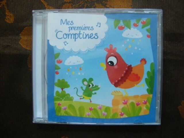 CD MES PREMIERES COMPTINES / C. Prod  (2016)  NEUF SOUS BLISTER