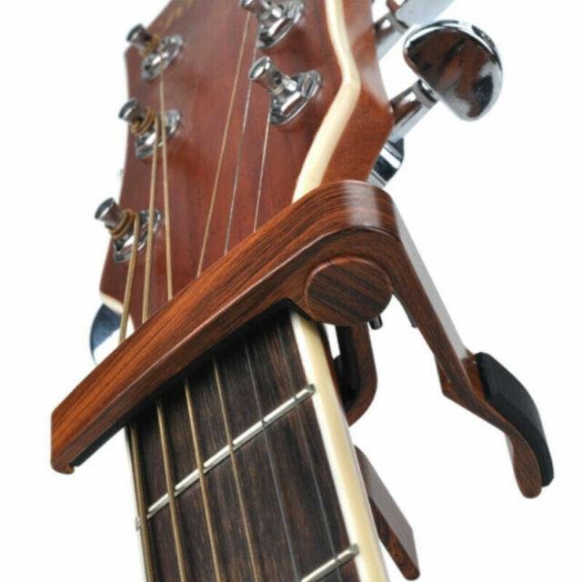 schwarz Kapodaster Capo für Konzertgitarre Klassikgitarre Gitarre Capodaster