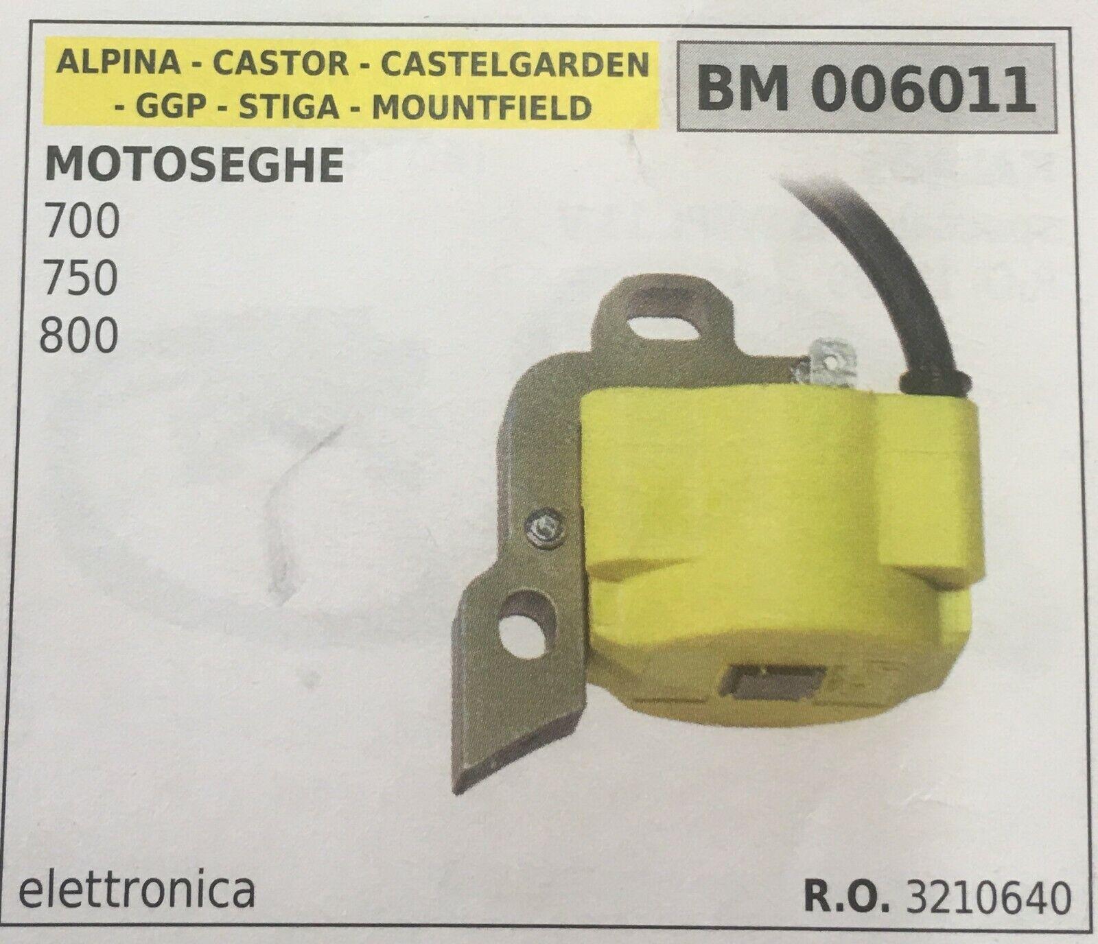 Coil Electronic Alpina - Castor - Castelgarden - Ggp - Stiga - Mountfield