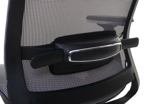 Bürostuhl HWC-A20 Schreibtischstuhl ergonomisch Kopfstütze Textil ISO9001