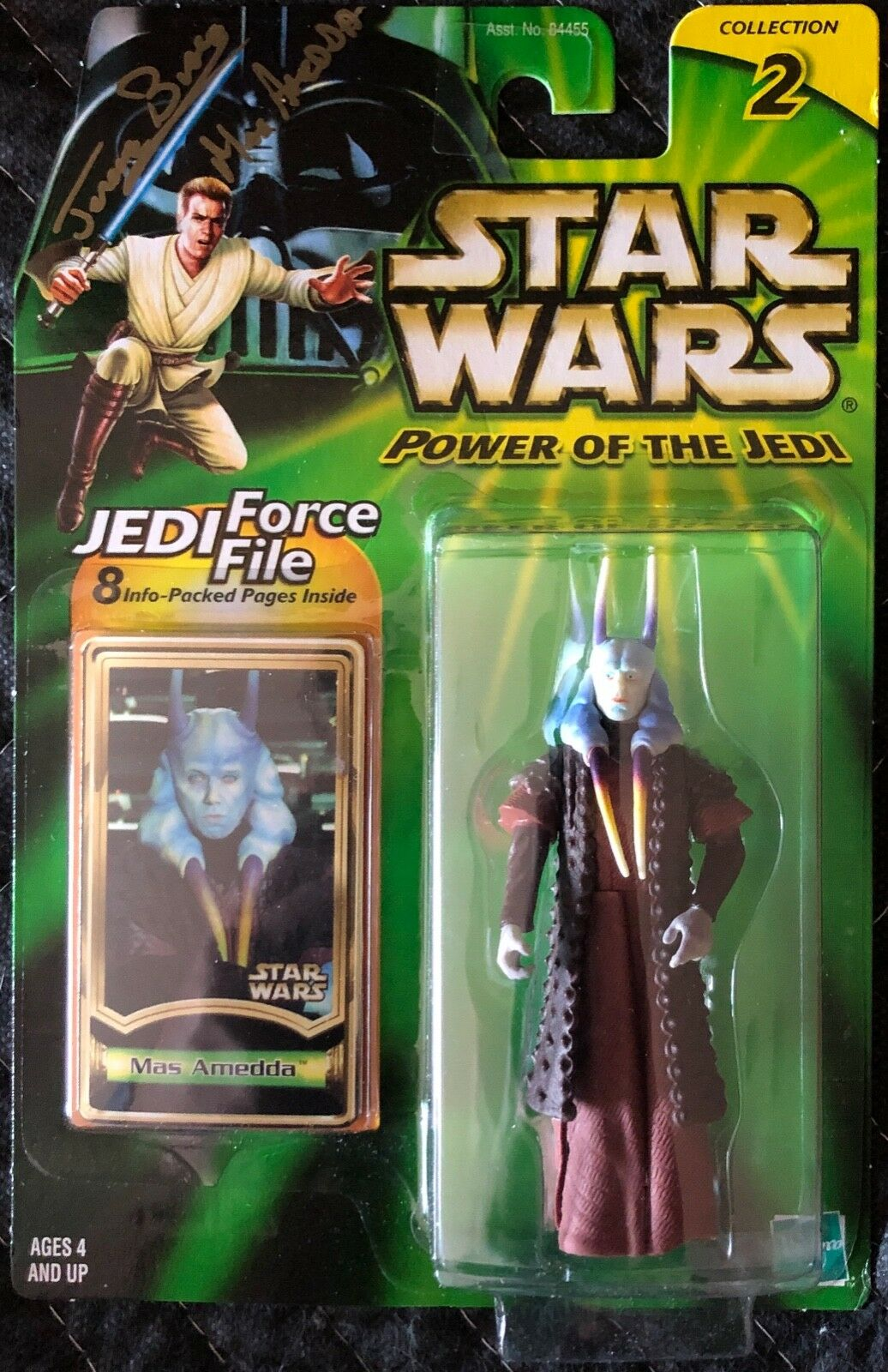 Autographed Power Of The Jedi Mas Amedda Signed By Jerome Blake Unopened