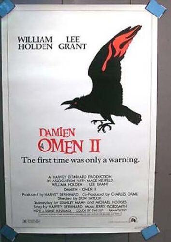 1978 Orig 1-Sheet Poster DAMIEN OMEN II William Holden
