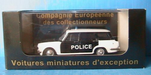 SIMCA 1500 BREAK POLICE PIE 1964 ELIGOR V4268 1 43 POLITIE