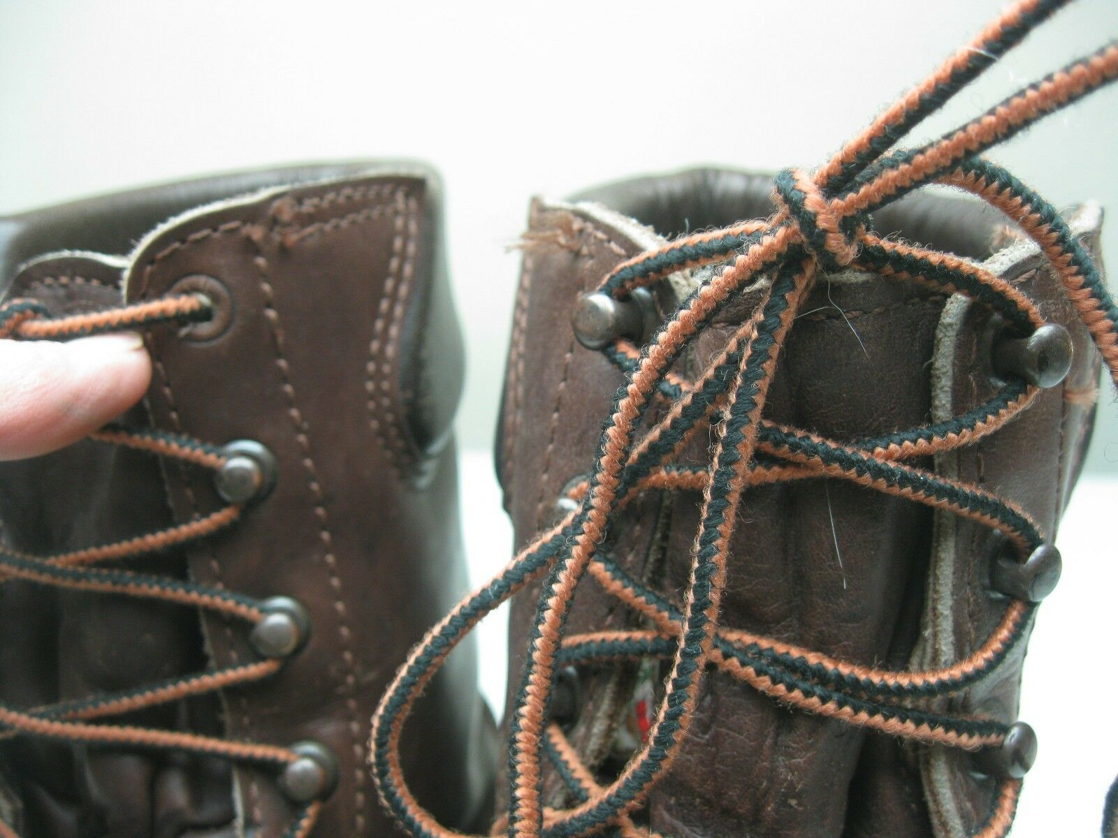 DANNERDISTRESSED BROWN 800 GRAM PACKER INSULATED MADE IN  A PACKER GRAM BOOTS size 8 EE
