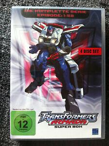 TRANSFORMERS - ARMADA ( Complete all 52 Episodes )  4 DVDs - Region 2 (UK)