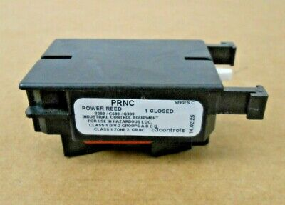 1 NEW C3 PRNC CONTACT BLOCK POWER REED 1NC 6 AVAIL