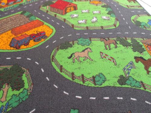 Kinder Spiel Teppich Land Leben Straßenteppich Farm Bauernhof