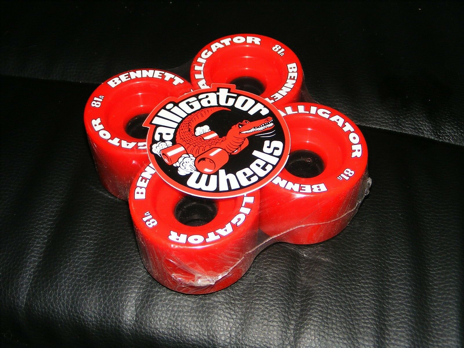 Bennett Alligator Longboard Wheels 71mm 81a Super Fast Great Grip Slalom Wheels