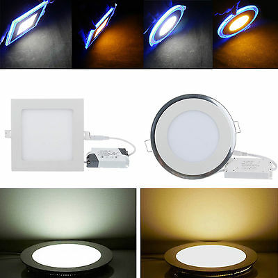 Dimmable 6W 9W 12W 15W 18W 21W CREE LED Ceiling Recessed Panel Light Bombilla