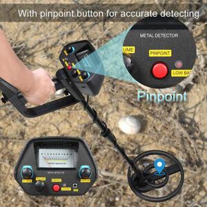 LCD Metal Detector Gold Digger Deep Sensitive Hunter Waterproof Search Coil
