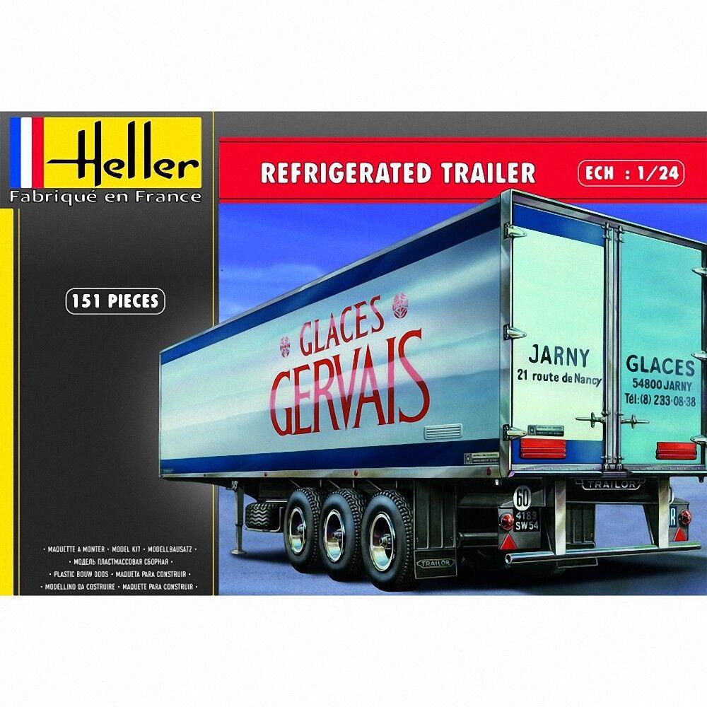 Heller 1 24 Refrigerated Trailer