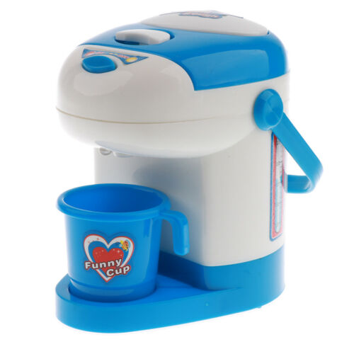 Electronic Kids Pretend Play Kitchen Cooking Home Appliance Toy with Light Sound