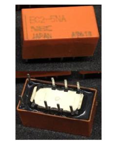 Details about 25 pieces NEC Miniature Signal Relay EC2-5NA DPDT 2A 5V  (EC2-5NU)
