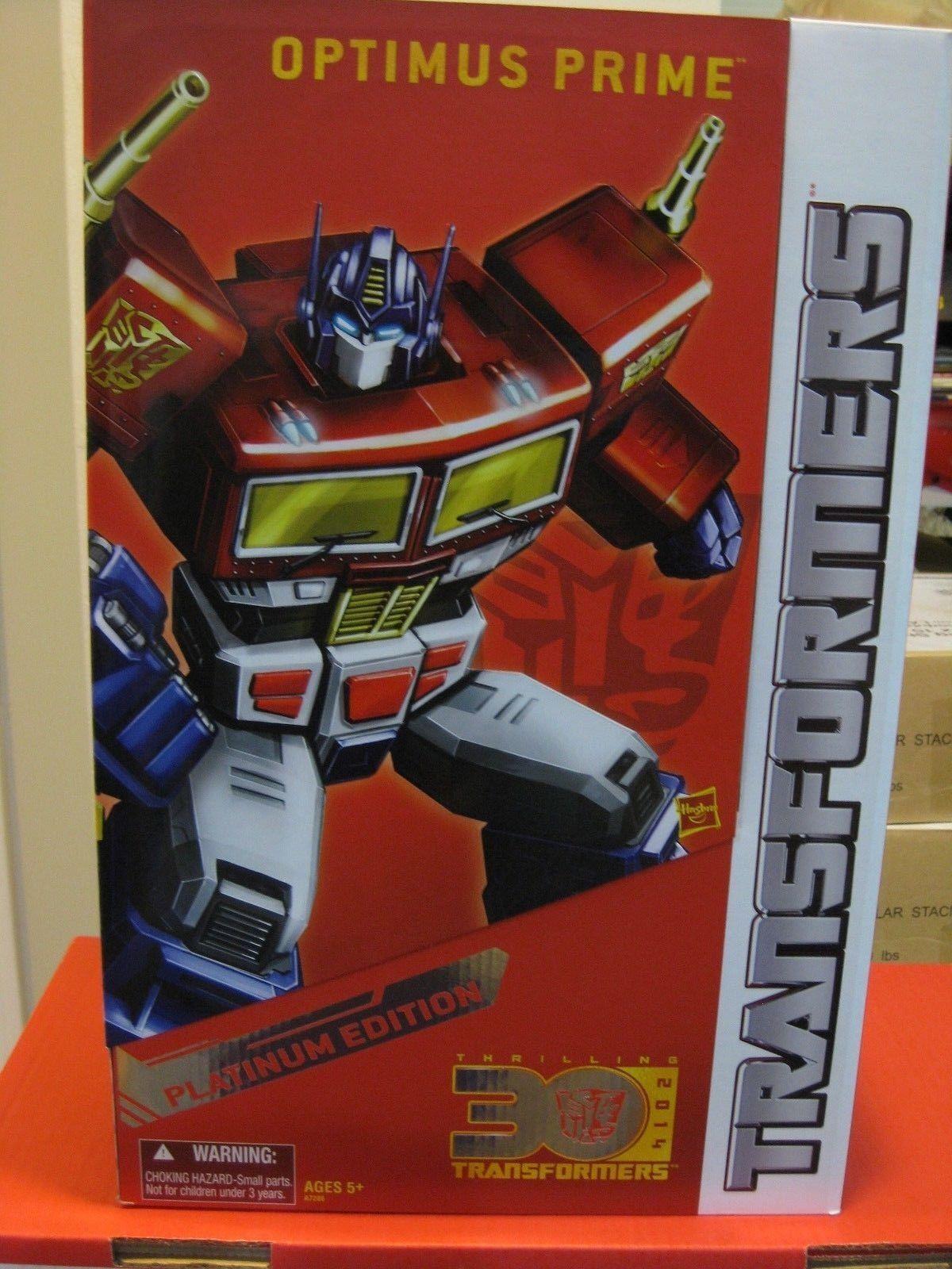 Transformers Masterpiece Platinum Edition Year of the Horse Optimus Prime