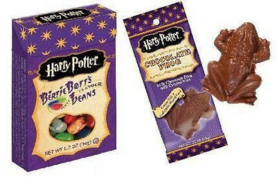 Jelly Belly Harry Potter Bertie Botts Beans & Chocolate Frog from Candy Junction