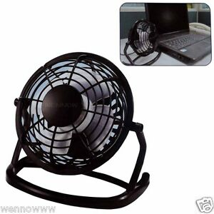 ( Black ) Color Mini USB Powered Desktop Cooling Fan