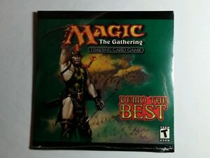 MAGIC-THE-GATHERING-TRADING-CARD-GAME-DEMO-THE-BEST-CD-ROM-CD-ROM-DISC-NEW