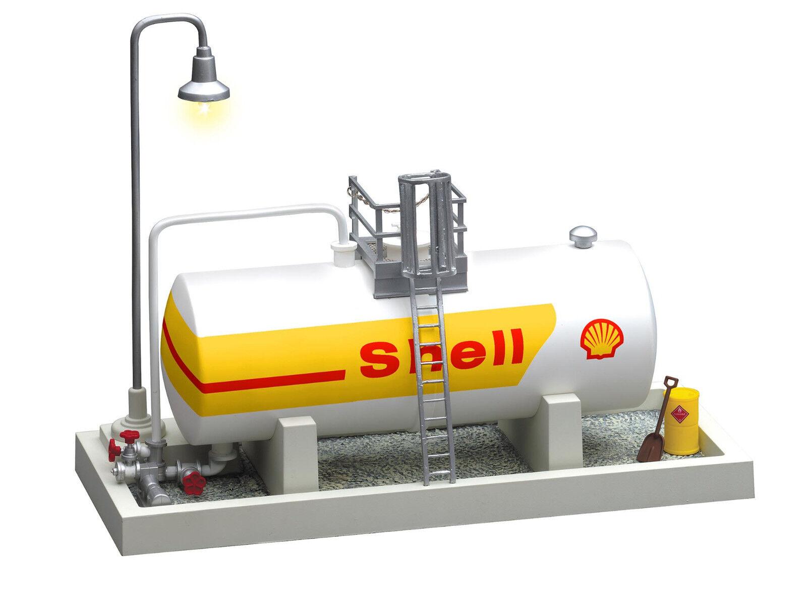 LIONEL  83241 Shell  Oil Storage Tank W/Light