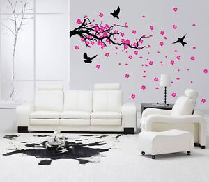 Image Is Loading Tree Branch Wall Art Sticker Vinyl Decal Mural