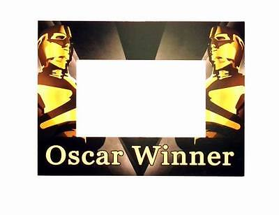 "Lot of 24 Pieces - ""Oscar Winner"" Themed Party Card Picture Frames with Easel"