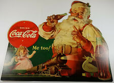 16 Coca Cola Christmas Cards Santa And Train For Sale Online Ebay