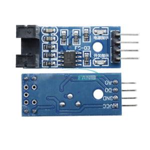 5PCS-Slot-Type-Optocoupler-Module-3-3V-5V-LM393-Comparator-For-Arduino-MF