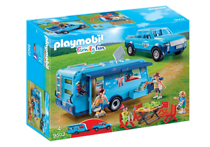 Playmobil-9502-FunPark-Pickup-with-Camper