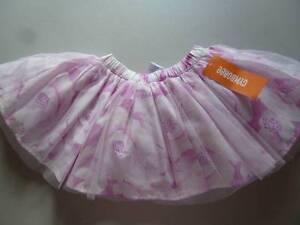 84eb919188 Gymboree Center Stage Pink Purple Floral Tutu Tulle Skirt 12-18-24 ...