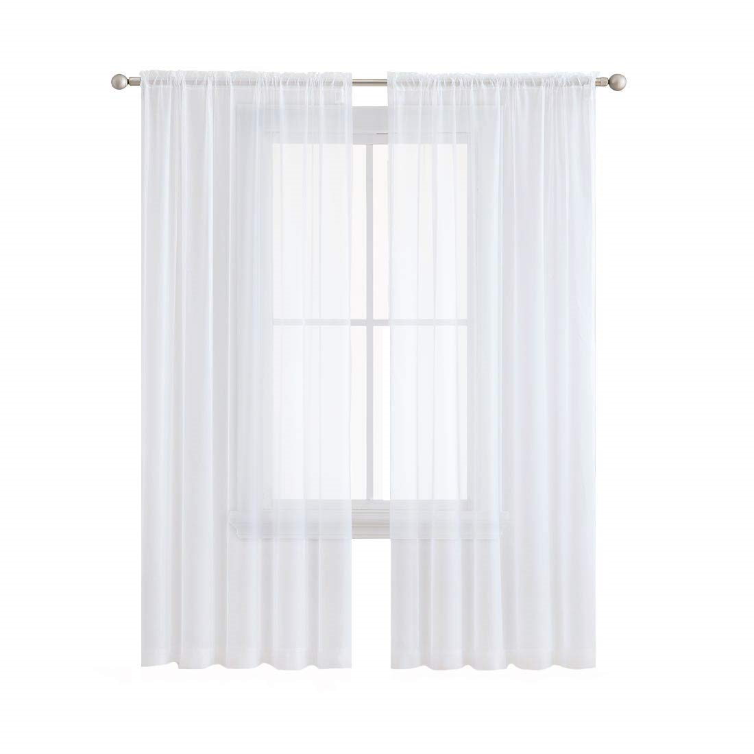 Black /& White Sheer Curtains Sheer Curtains Window Curtains. Sheer Curtains Black Sheer curtains White Sheer Curtains