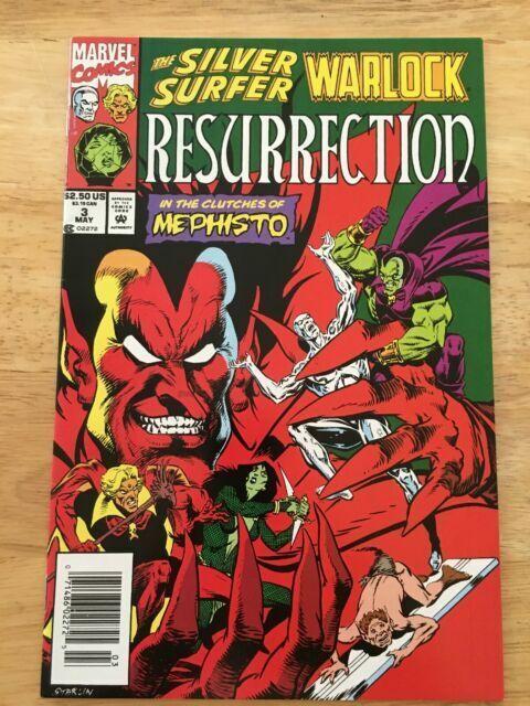 Silver Surfer /& Warlock Resurrection #4 June 1993 Marvel Comics