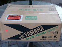Yamaha Natural Sound Dvd-s510 Dvd & Cd Player Black