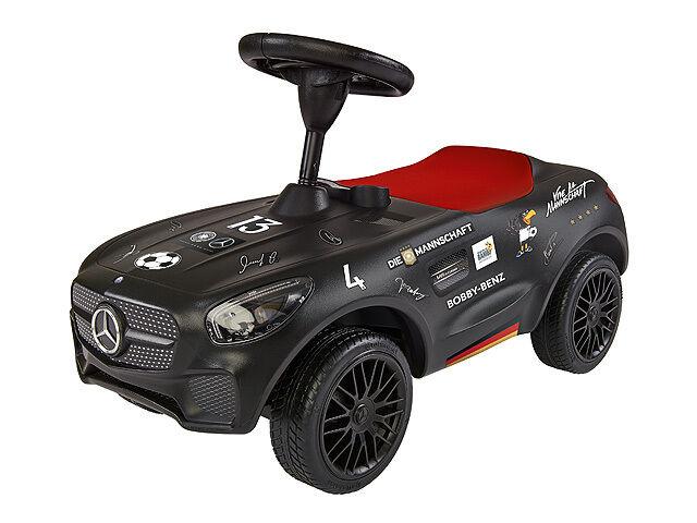 Kinderrutscher Bobby-AMG GT Tribute to Bambi schwarz, von BIG für Mercedes-Benz