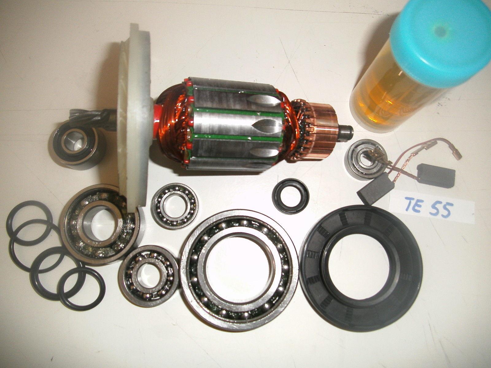 Hilti TE 55 Anker, Rotor und Reparatursatz Reparatursatz Reparatursatz komplett 24d768