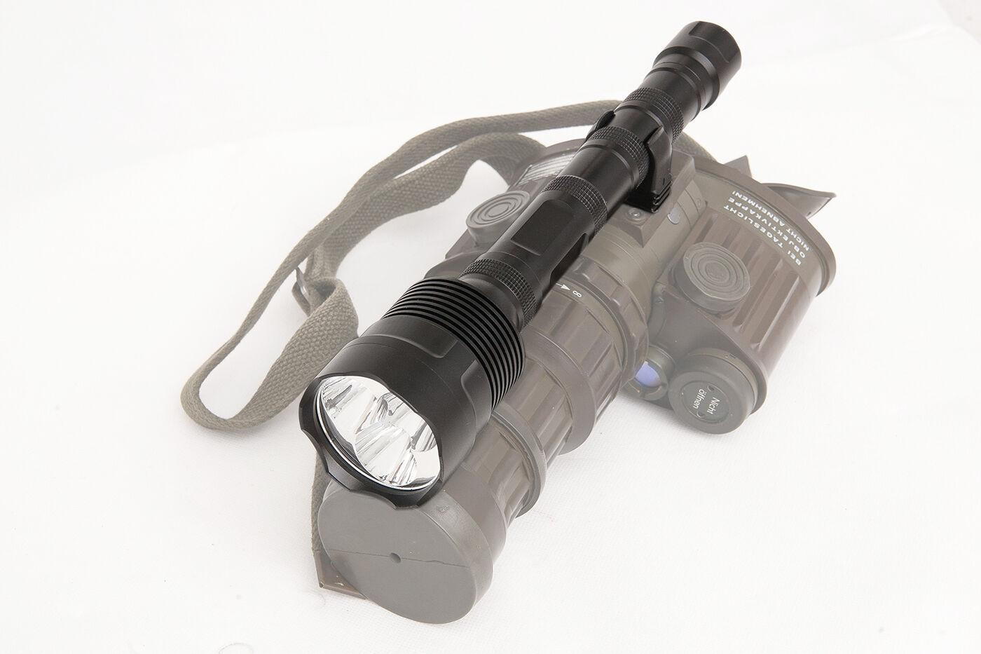 Infrared IR Taschenlampe 9W mit 940NM für Fero 51, super stark und super Hell