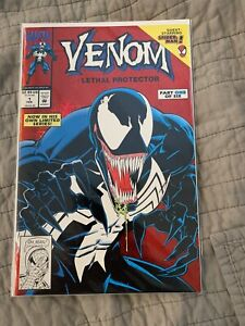 Venom-Lethal-Protector-1-Marvel-1993-1st-Venom-in-own-title-Spider-man